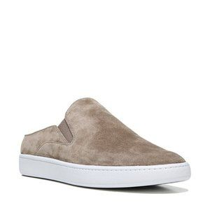 Vince Slip-On Suede Leather Mule Sneakers